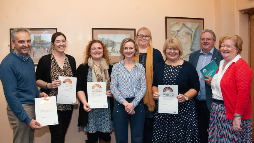 Carrickfergus Museum recognised at Museum Accreditation Awards