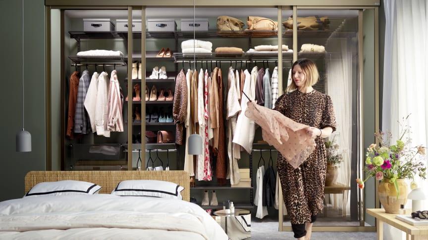 Luksuriøs og lun garderobe med nye Graphite