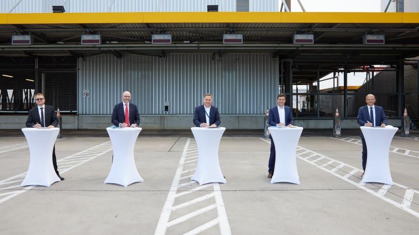Lufthansa Cargo modernisiert Infrastruktur für Road Feeder Services am Hub Frankfurt
