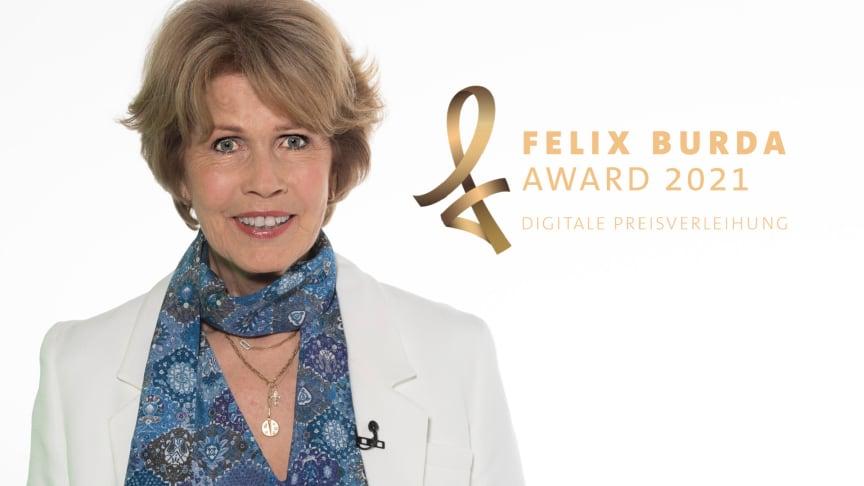 Stiftungsvorstand Christa Maar präsentiert den virtuellen Felix Burda Award 2021