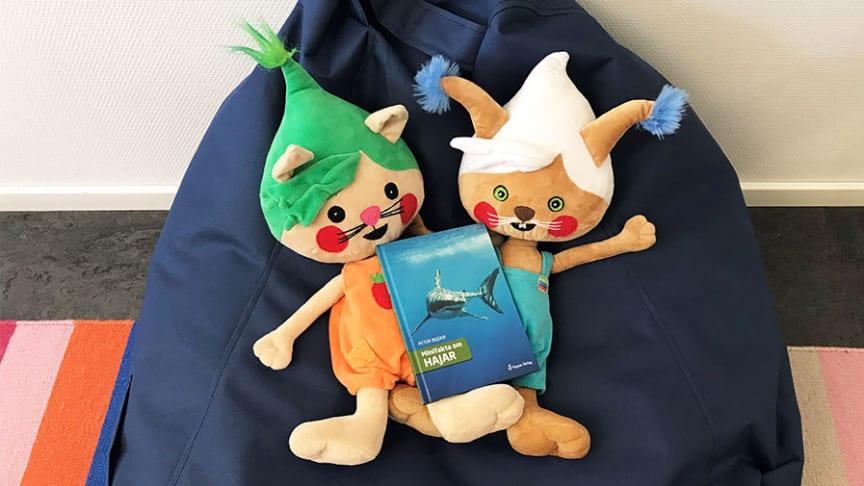 Minifakta om hajar vinnare i Förskolebarnens litteraturpris