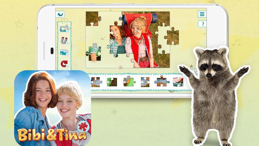 APPSfactory veröffentlicht Puzzle-App für Kinder mit Motiven der Bibi & Tina-Filme