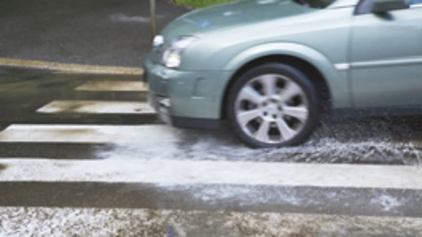 Tread carefully in wet weather