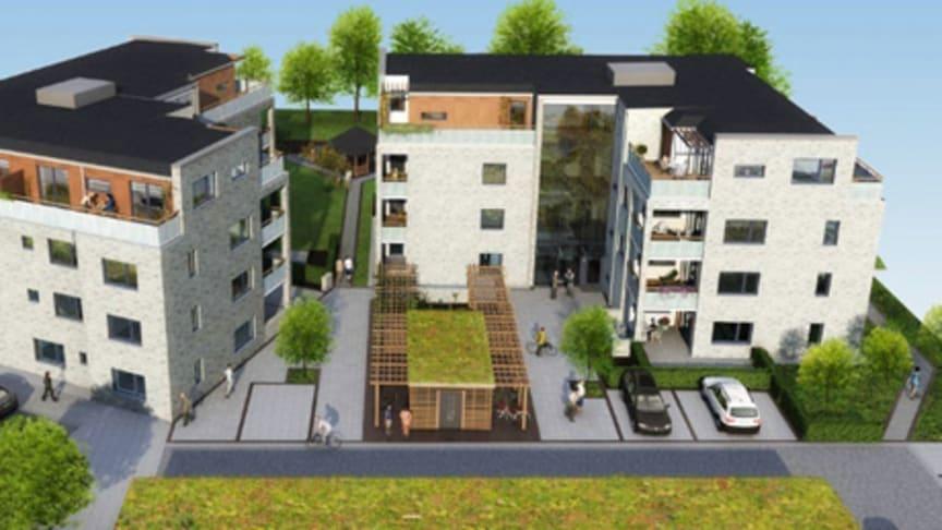 Byggstart för Bonums seniorboende Brf Lödde Park  i Kävlinge