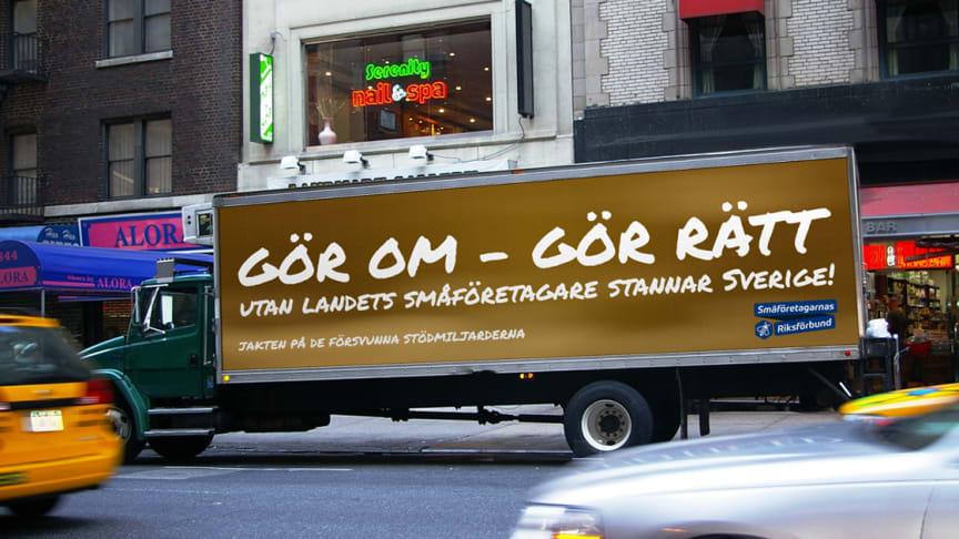 Upprop! Gör om – gör rätt, utan landets småföretagare stannar Sverige!