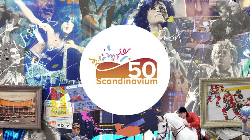 Hipp hipp hurra, Scandinavium fyller 50 år!