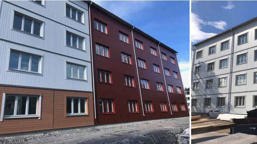 SBS färdigställer 104 nya studentbostäder i Luleå