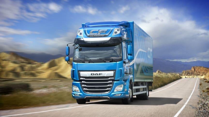 DAF introducerar paketen Ultimate och Ultimate+ för sina förstklassiga CF- och XF-lastbilar för att sätta nya standarder för effektivitet, säkerhet och komfort.