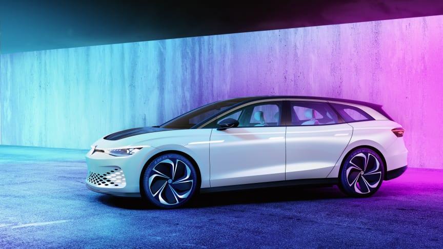 ID. SPACE VIZZION har forførende proportioner som en Gran Turismo og rummelighed som en luksus SUV