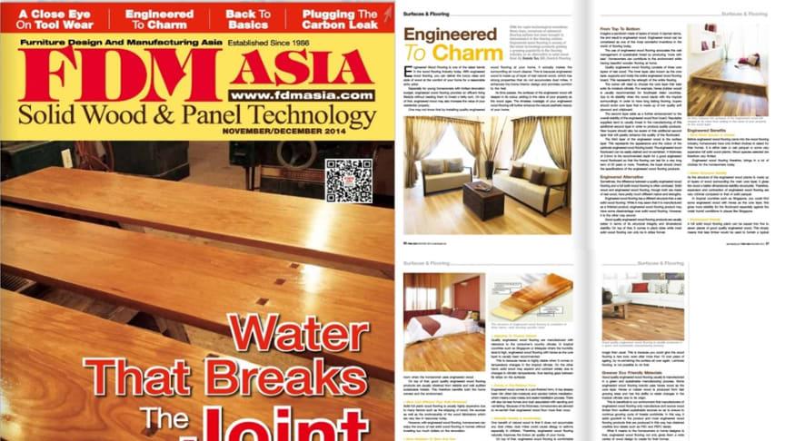 Evorich Flooring Featured on FDM Asia Magazine
