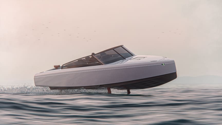 """Candela C-8: The """"Iphone moment"""" for electric boats"""