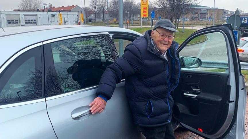 Bert fick experthjälp med sitt bilköp på distans