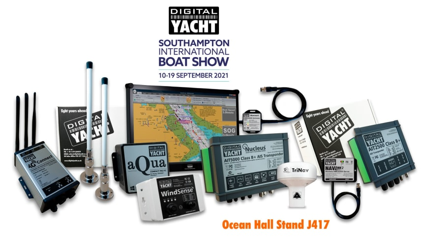 Next generation navigation from Digital Yacht