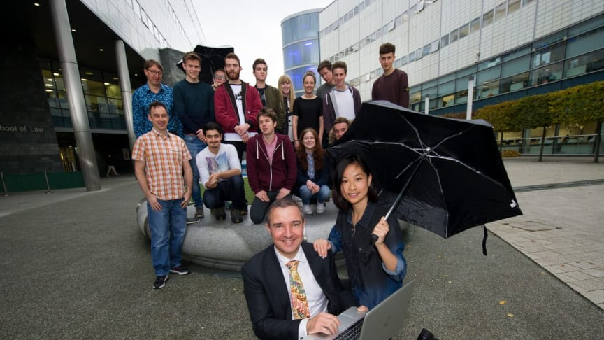 Northumbrian Water and Northumbria University make a splash in innovation festival