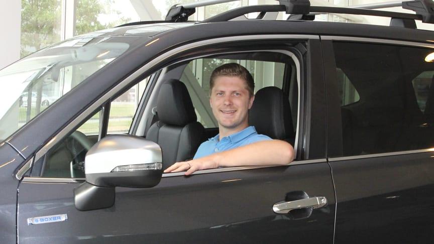 Filip Frennby är ny försäljningsdirektör för Subaru i Sverige