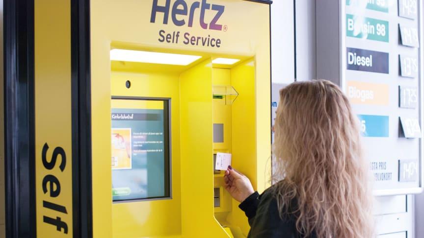 Hertz Self Service Kiosk