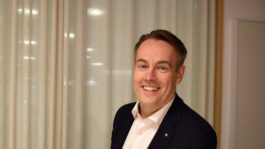 Per Bengtsson, vd på UIC, var med och startade UIC 1999.