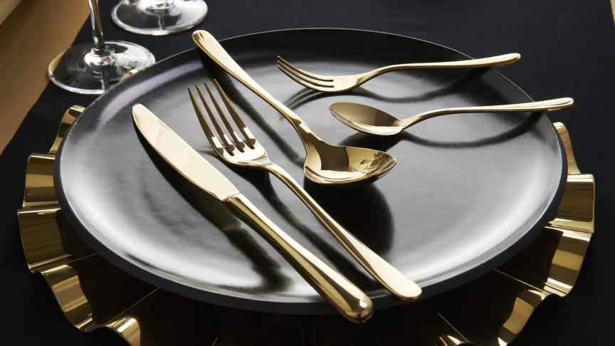 Taste PVD Gold von Sambonet.