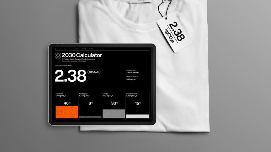 Det svenska start-up bolaget Doconomy har utvecklat  en kalkylator för koldioxidmärkning av alla produkter