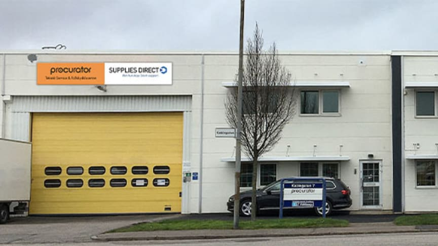 Procurator Teknisk service, Fallskyddscenter och Supplies Direct Malmö