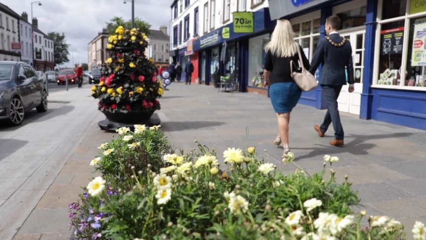 The £11m funding will be allocated to local councils in two tranches to deliver measures that will help provide a safe environment for visitors, shoppers and workers within town and city centres.