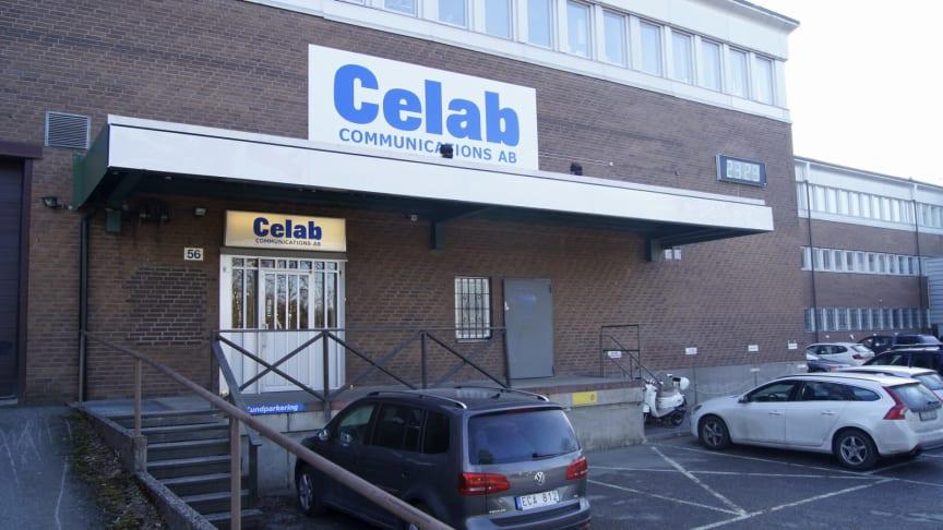 INVIGNINGEN AV CELAB STOCKHOLM BLEV EN LYCKAD TILLSTÄLLNING