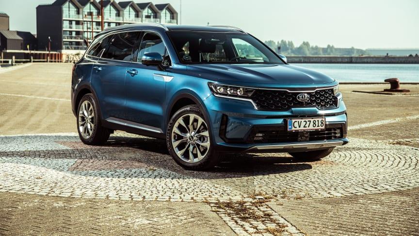 Kraftfuld, progressiv og alsidig – den nye KIA Sorento imponerer til bare 564.000,- kr. for den 2,2 liters dieselmotor