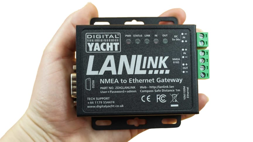 LANLink NMEA to Ethernet Gateway