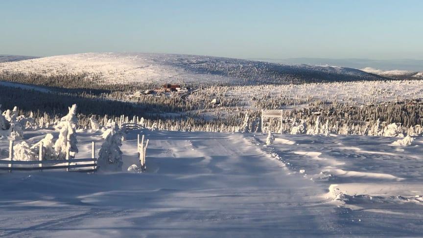 Vintrigt i Sälen, 30 november 2019. Foto: Fredrik Rydén
