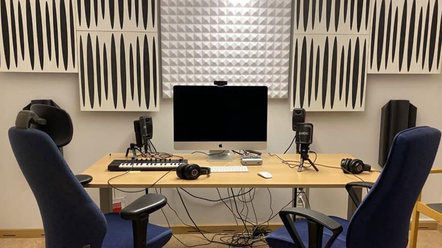 Välkommen till invigning av vår nya poddstudio