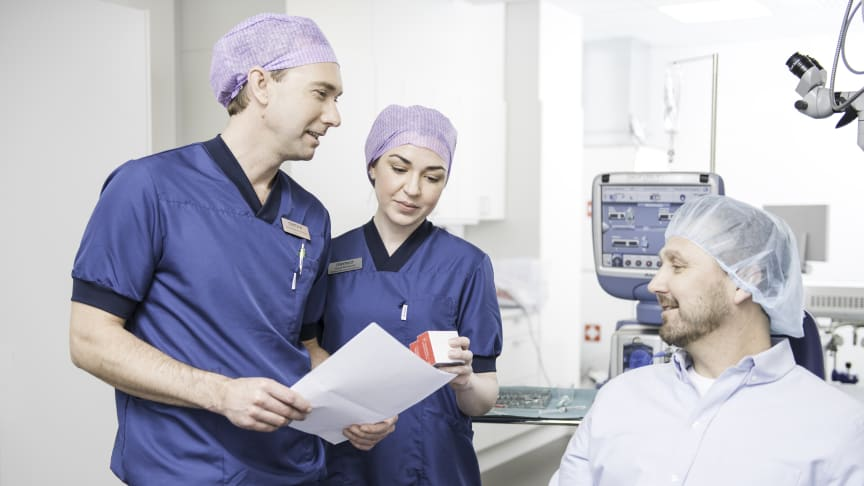 Nederlandske Bergman Clinics ekspanderer i Skandinavia med oppkjøpet av Memira øyeklinikker