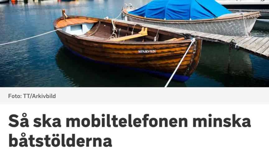 CoBoats ska minska båtstölderna i Blekinge