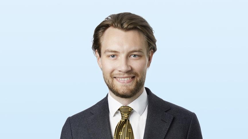 John Waldenström, Associate inom Värdering.