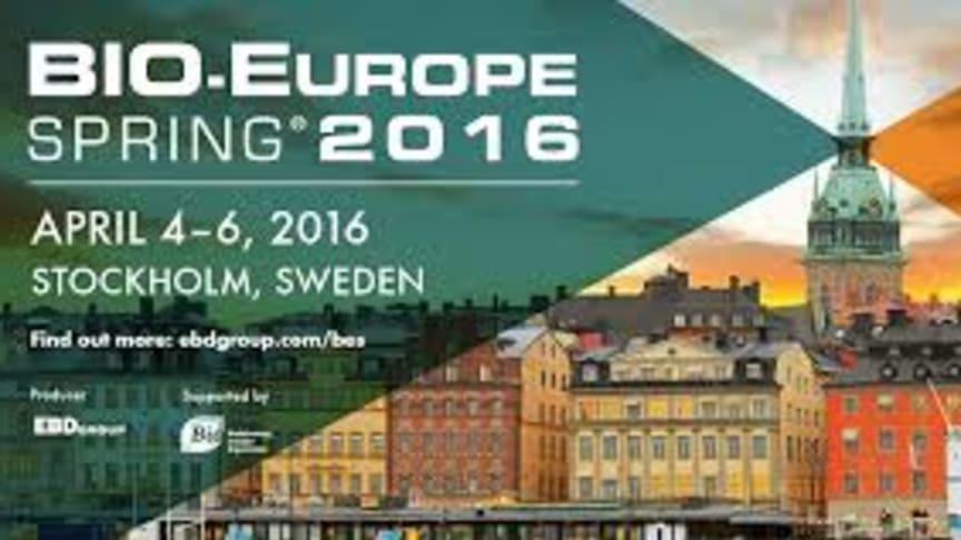 Möt oss på bio Europe Spring 4-6 april