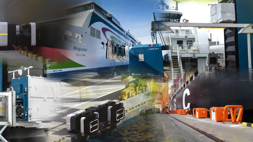 Cavotec's automated mooring and e-charging systems are enabling profitable sustainability at sites worldwide.