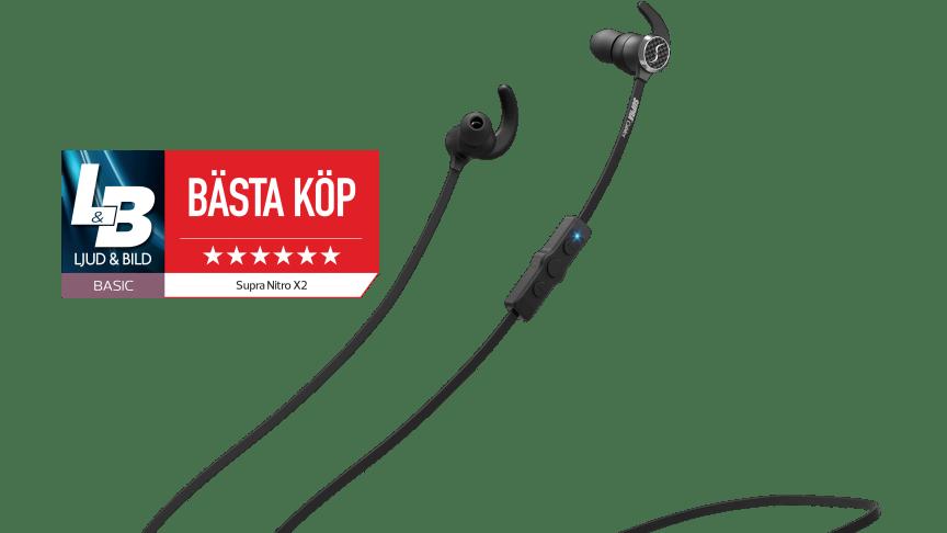 """SUPRA NiTRO-X2 """"Bästa Köp"""" i tidningen Ljud & Bild"""