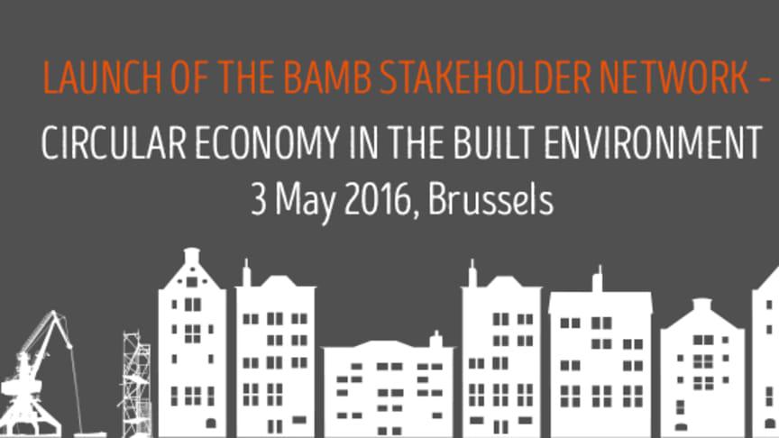 SundaHus deltar vid BAMB Stakeholder Network i Bryssel