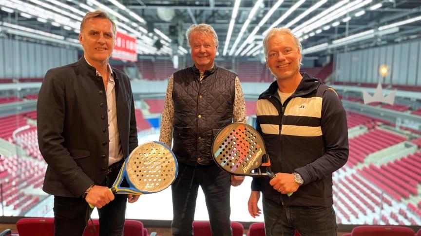 Från vänster: Peter Areskog, Percy Nilsson, Nicklas Persson