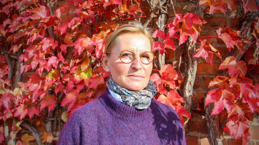Christina Lindh, universitetsadjunkt i svenska vid Högskolan Kristianstad.