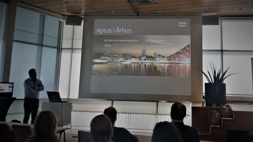 Robert Almqvist presenterar Aarhus, DK