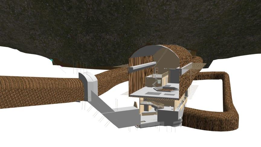 Ved å jobbe digitalt med prosjekteringen får man en visuell prosess hvor man kan se modeller i 3D.