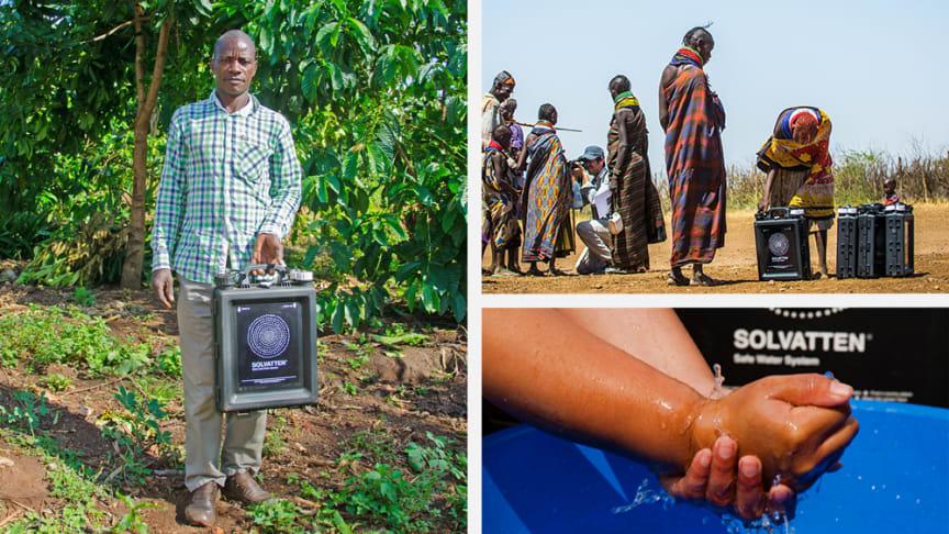 Ett samarbete som ger fler tillgång till rent och varmt vatten