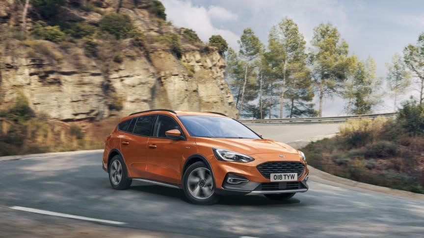 Prisdryss for nye Ford Focus i Europa