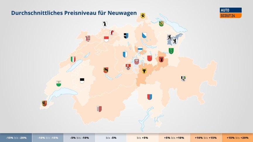 Fahrzeuge in Appenzell Ausserrhoden am günstigsten