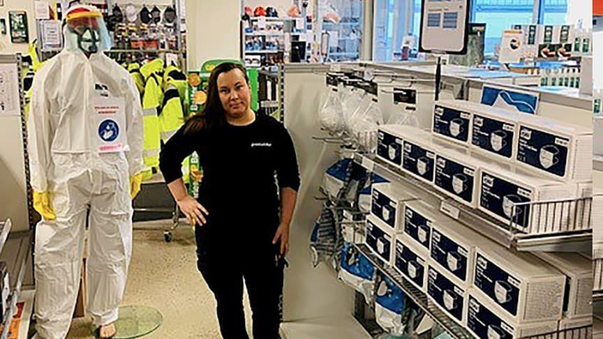 I butikerna jobbar eldsjälar berättar Paulina Stenqvist, Key Account Manager på Procurator.