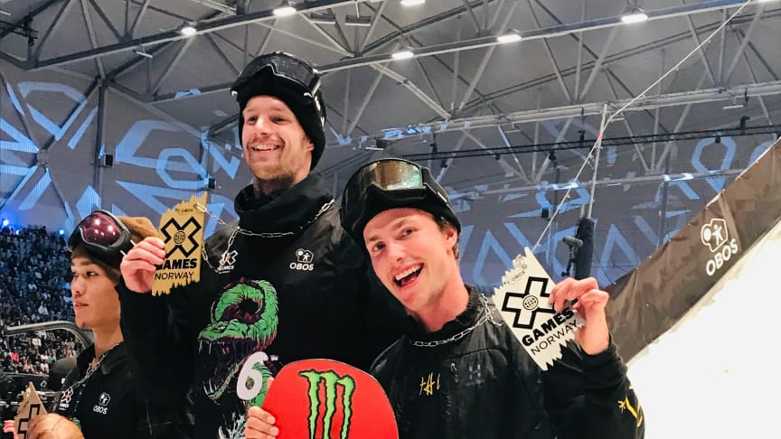 Sven Thorgren tar silver på X games Oslo