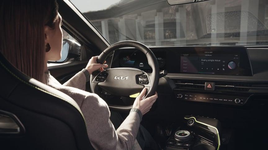 EV6 er designet til at forbedre interaktionen mellem menneske og maskine