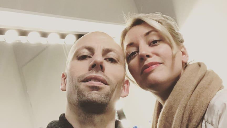 Skånes Dansteaters Dare to Wreck dansas av Peder Nilsson och Madeleine Månsson