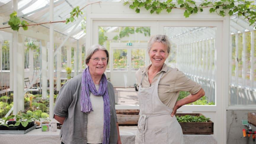 Linda Jolly (t.v.) og Marianne Leisner (t.h.) vant i kveld hedersprisen Årets Meitemark. Foto: Eva Birgitte Hollander