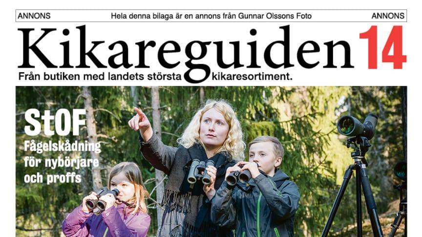 Kikareguiden 2014 från Gunnar Olssons Foto